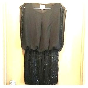 2 for $35 Romeo and Juliet - black beaded dress